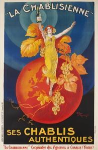 La Chablisienne, Ses Chablis Authentiques, French Wine Poster