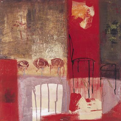 La Chaise et le Tabouret-Jocelyne Bonzom-Art Print