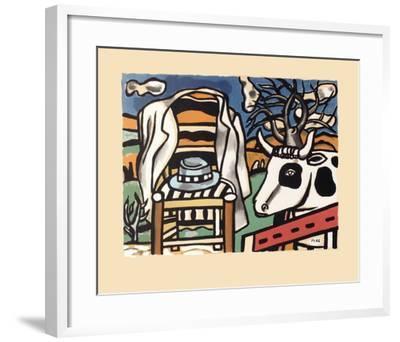 La chaise-Fernand Leger-Framed Art Print