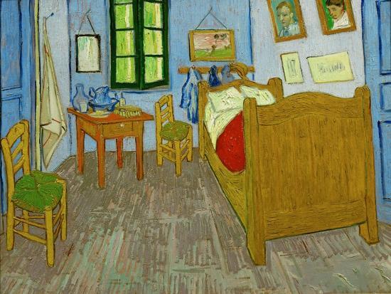 La Chambre De Van Gogh A Arles Oil On Canvas 1889 57 5 X 74 Cm