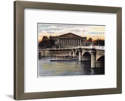 La Chambre Des Deputes and the Pont De La Concorde, Paris, C1900