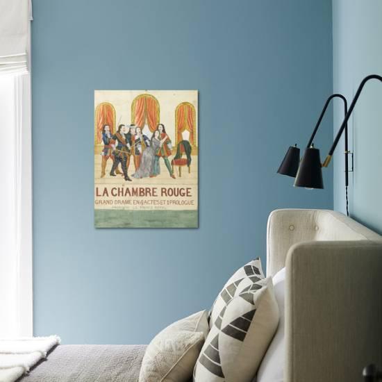 La chambre rouge, grand drame en 4 actes et 1 prologue, prologue le price  royal Giclee Print by | Art.com