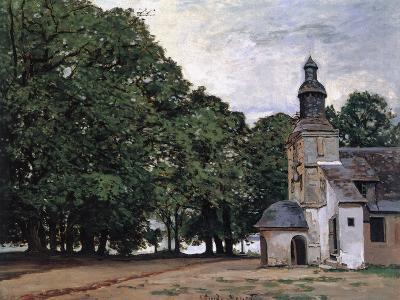 La Chapelle De Notre-Dame De Grace, Honfleur-Claude Monet-Giclee Print