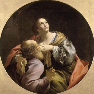 La Charité romaine-Simon Vouet-Giclee Print