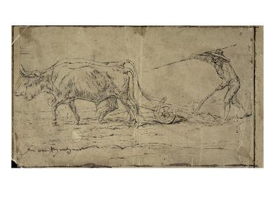 La charrue-Rosa Bonheur-Giclee Print