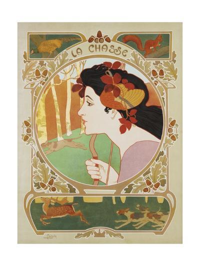 La Chasse Poster-Medaille-Giclee Print