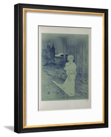 La Chatelaine-Henri de Toulouse-Lautrec-Framed Collectable Print