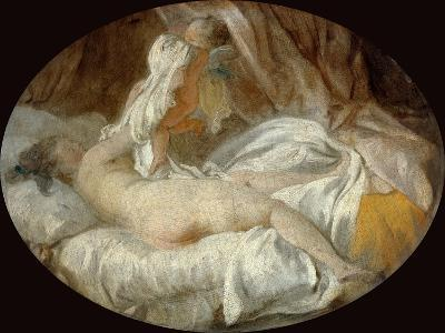 La Chemise Enlevée (The Shirt Remove)-Jean-Honor? Fragonard-Giclee Print