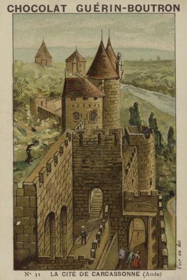 La Cite De Carcassonne, Aude--Giclee Print