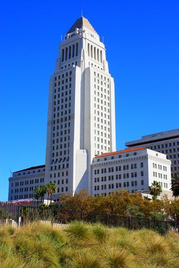 LA City Hall-photojohn830-Photographic Print
