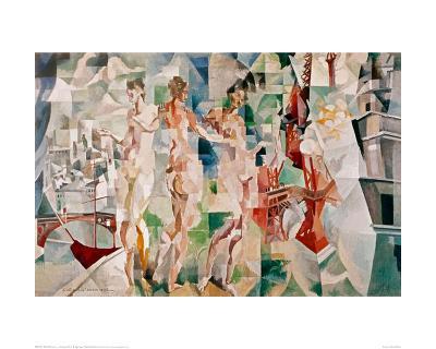 La Ciudad de Paris, 1910-Robert Delaunay-Giclee Print