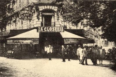 La Closerie Des Lilas, Paris--Photographic Print
