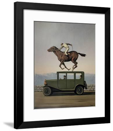 La Colere des Dieux-Rene Magritte-Framed Art Print