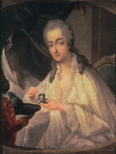 La Comtesse du Barry-Jean-Baptiste Greuze-Giclee Print