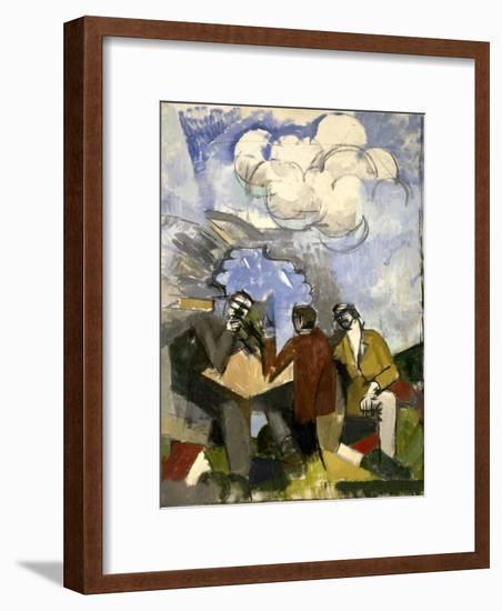 La Conquête de l'air-Roger de La Fresnaye-Framed Giclee Print