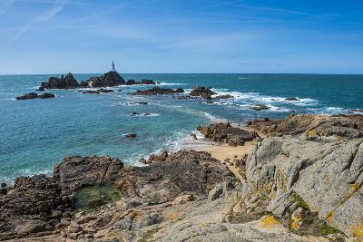 La Corbiere Lighthouse, Jersey, Channel Islands, United Kingdom-Michael Runkel-Photographic Print