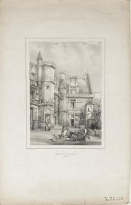 La cour de l'hôtel de Cluny