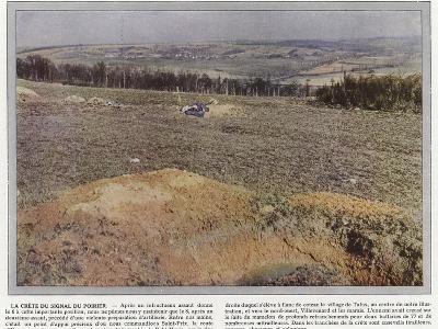 La Crete Du Signal Du Poirier-Jules Gervais-Courtellemont-Photographic Print