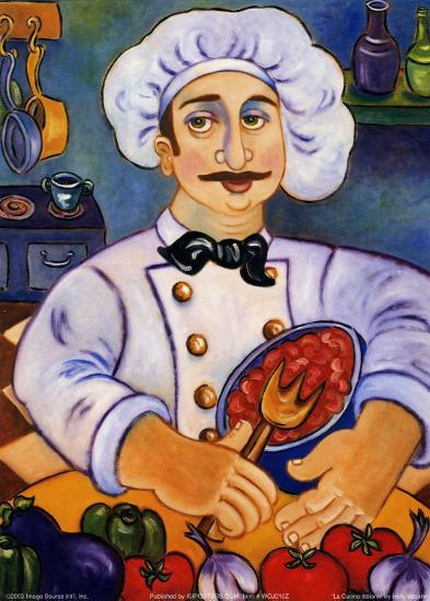 La Cucina Italiana-Holly Wojahn-Art Print