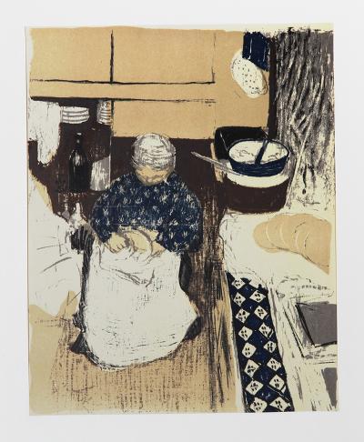 La Cuisiniere-Edouard Vuillard-Limited Edition