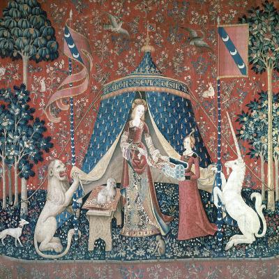 La Dame a La Licorne, 15th Century-CM Dixon-Giclee Print