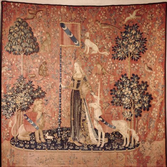 'La Dame a la Licorne' Tapestry Series, Brussels c1480-Unknown-Giclee Print