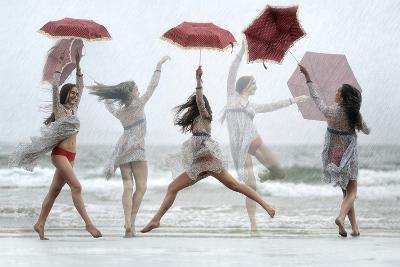 La Dance De La Pluie-Florence Menu-Photographic Print