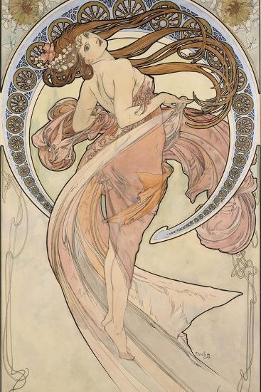 La Danse, 1898-Alphonse Mucha-Giclee Print