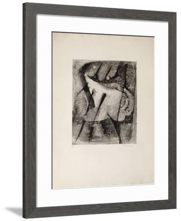 La Danse - French Cancan-Ren? Carcan-Framed Limited Edition
