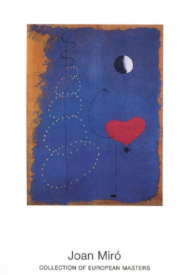La Danseuse, 1925-Joan Mir?-Art Print