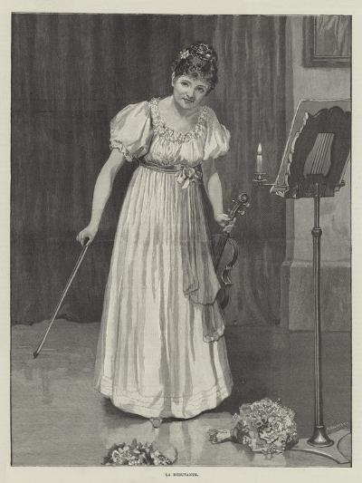 La Debutante--Giclee Print