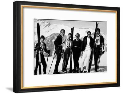 La Descente Infernale Downhill Racer De Michaelritchie Avec Robert Redford 1969--Framed Photo