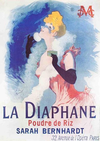 La Diaphane-Jules Ch?ret-Collectable Print