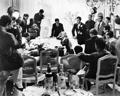 La Dolce Vita, Anita Ekberg--Photo