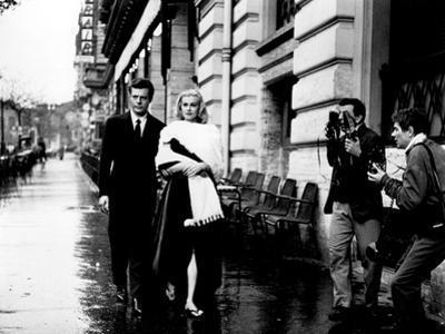 La Dolce Vita, Marcello Mastroianni, Anita Ekberg, 1960
