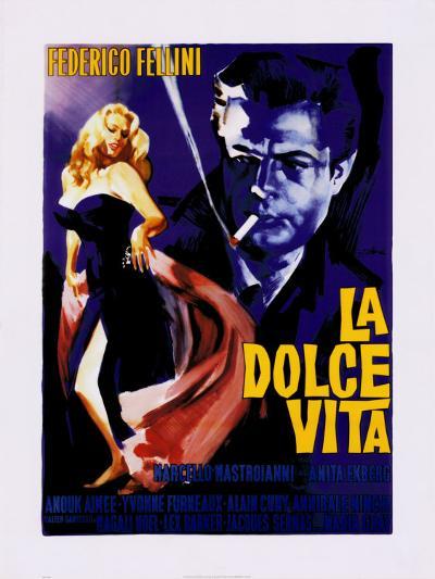 La Dolce Vita-The Vintage Collection-Art Print