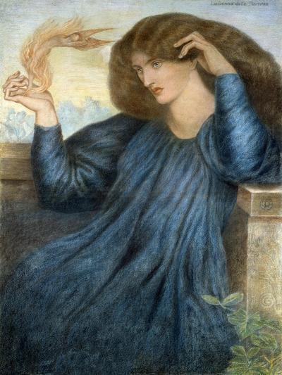 La Donna della Flamma-Dante Gabriel Rossetti-Giclee Print