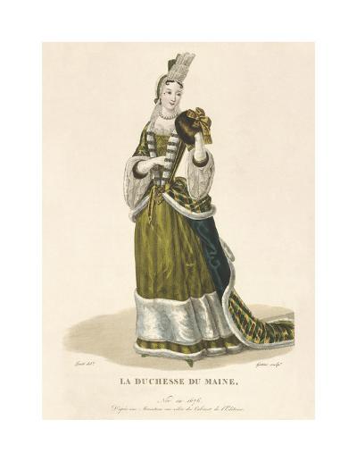 La Duchesse du Maine-Louis-Marie Lante-Premium Giclee Print