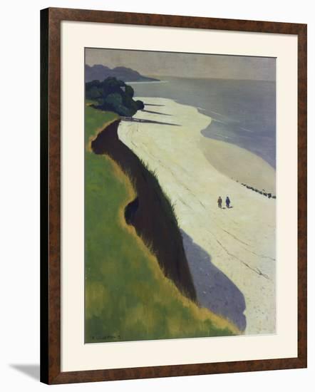 La Falaise De La Greve Blanche, 1913-Felix Vallotton-Framed Art Print