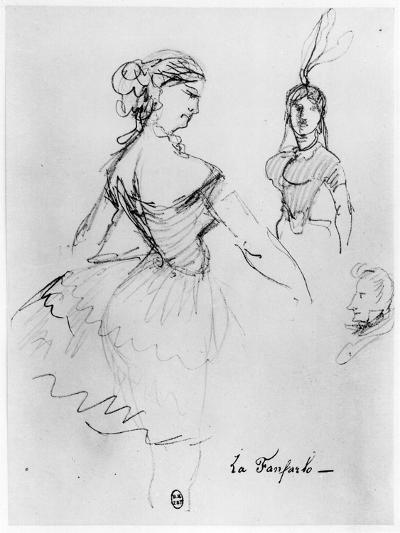 La Fanfarlo-Charles Pierre Baudelaire-Giclee Print