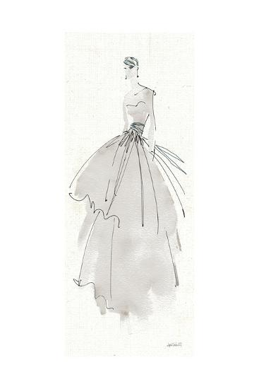 La Fashion II Gray-Anne Tavoletti-Art Print