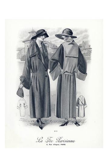 La Fee Parisienne Coats--Art Print