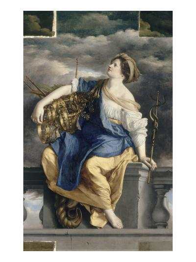 La Félicité Publique triomphant des Dangers-Orazio Gentileschi-Giclee Print