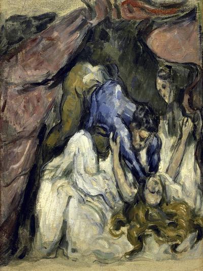 La Femme Etranglee-Paul C?zanne-Giclee Print