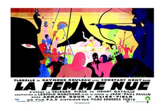 La Femme Nue--Art Print