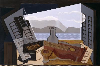 La Fenetre Ouverte (The Open Window)-Juan Gris-Giclee Print
