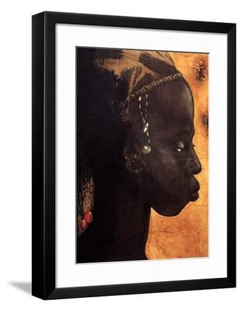 La Fiancee du Sultan-Gildas Flahault-Framed Art Print