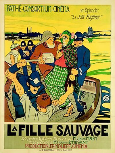 La Fille Sauvage--Art Print