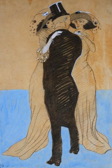 La Flatterie, 1908-Juan Gris-Giclee Print