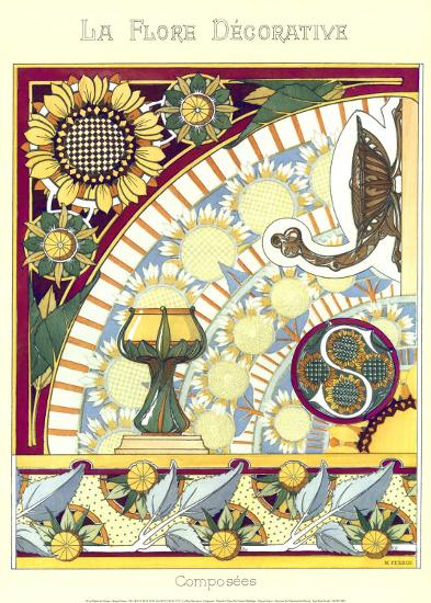 La Flore Decorative, Composees--Art Print